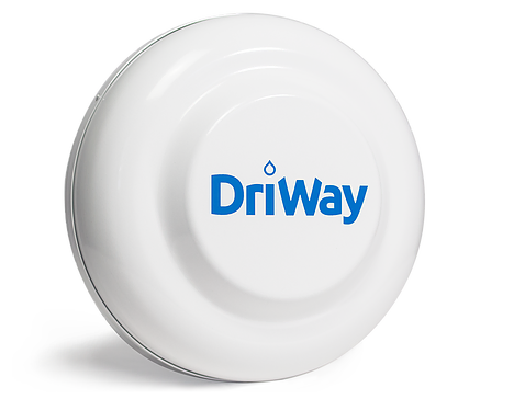 A front view product shot of DriWay's DW1